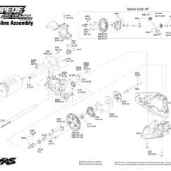 Traxxas Rustler Vxl Parts Diagram Porsche 996 Wiring 6708l Transmission Exploded View Stampede 4x4