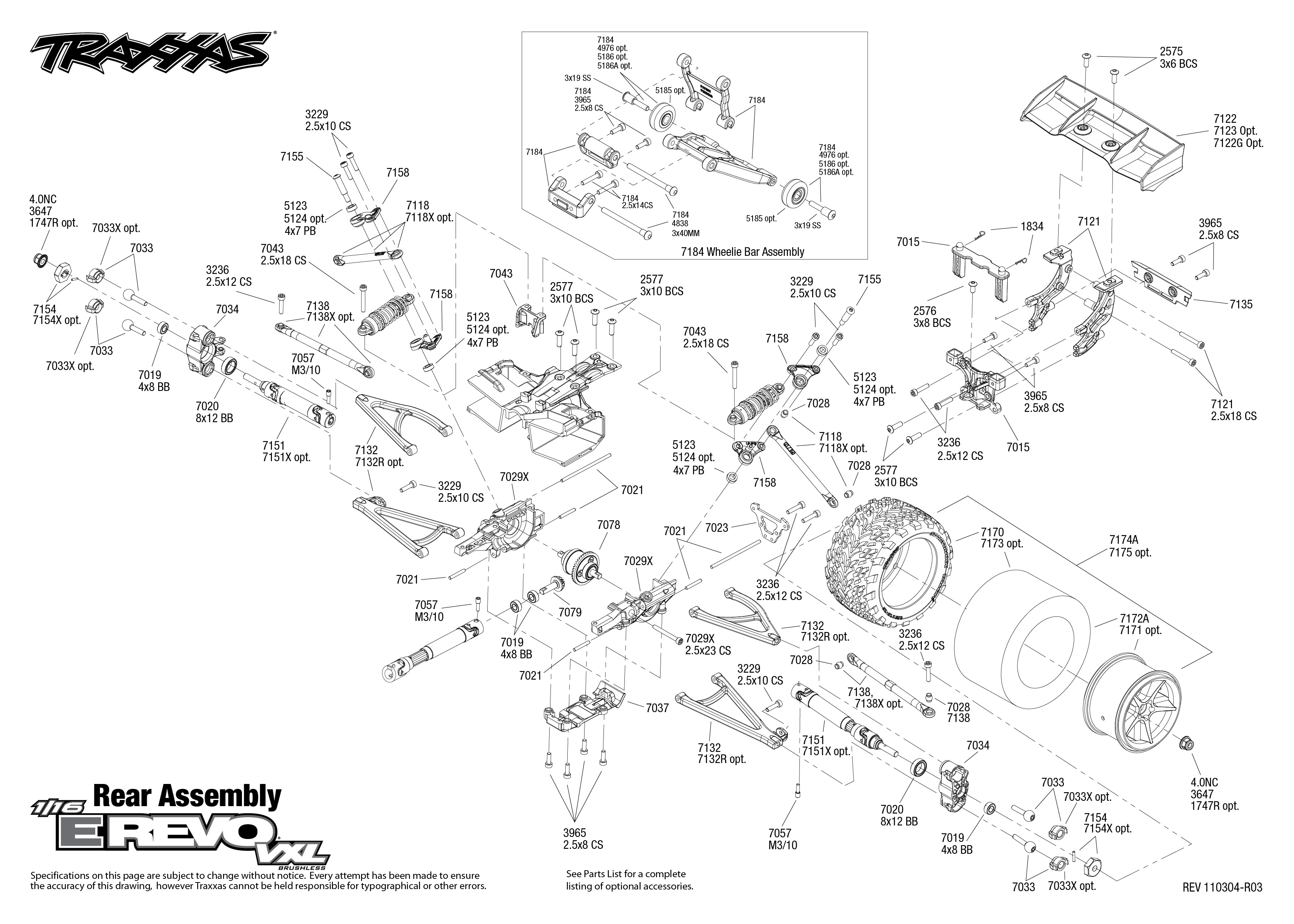 Traxxas Merv Rear Bulkhead Question