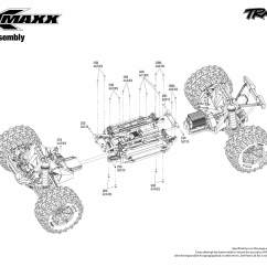 Traxxas T Maxx 2 5 Transmission Diagram Yamaha Golf Cart Battery Wiring X 77076 4 Modular Assembly Exploded View