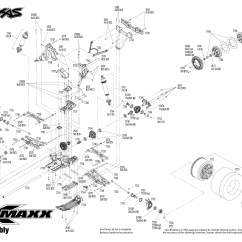 Traxxas T Maxx 2 5 Transmission Diagram Wiring Circuit Breaker Panel Parts List • And Engine