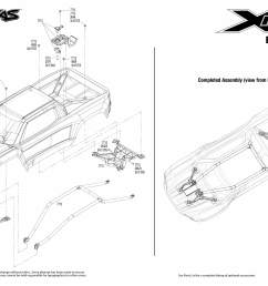 x maxx 77076 4 body assembly exploded view traxxas traxxas hawk x maxx traxxas diagram [ 3150 x 2250 Pixel ]