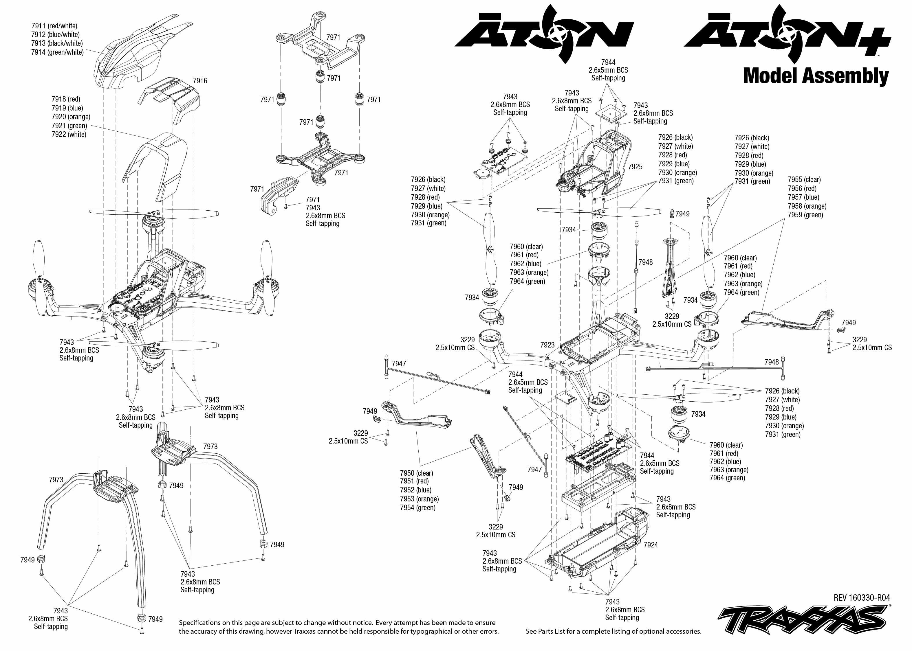 Traxxas E Maxx Parts Manual