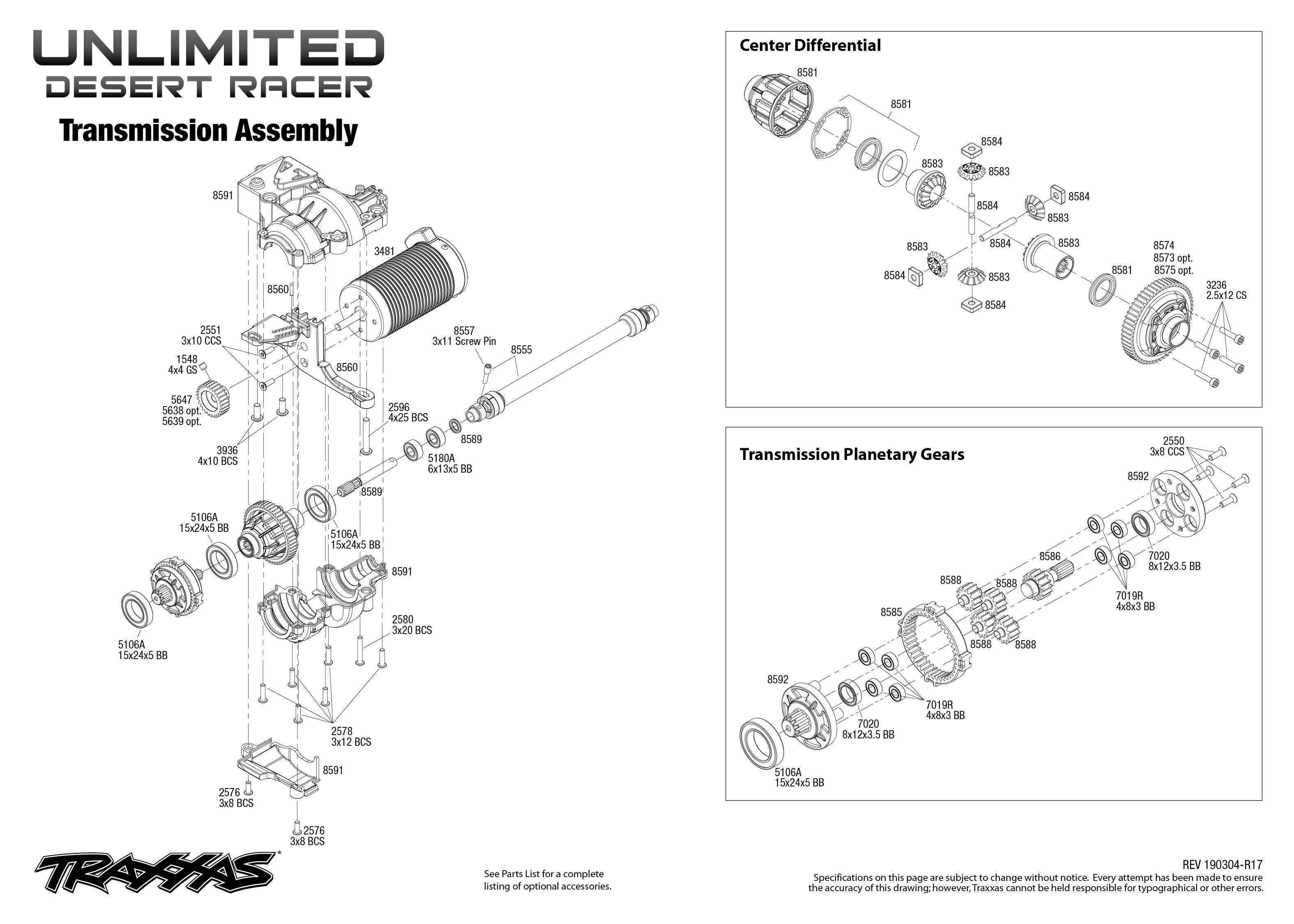 Traxxas Unlimited Desert Racer 4WD Fox [TRX85076-4F
