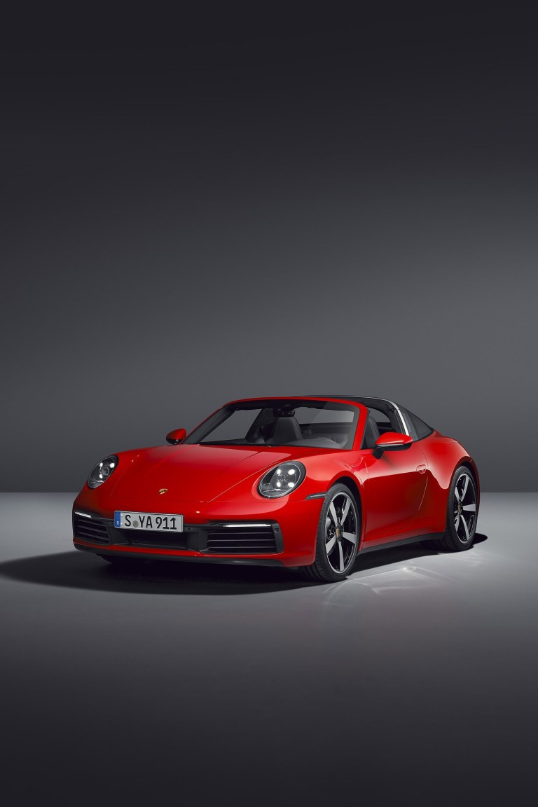 Porsche 911 Red Cars iPhone Full HD Wallpapers 1440X2160