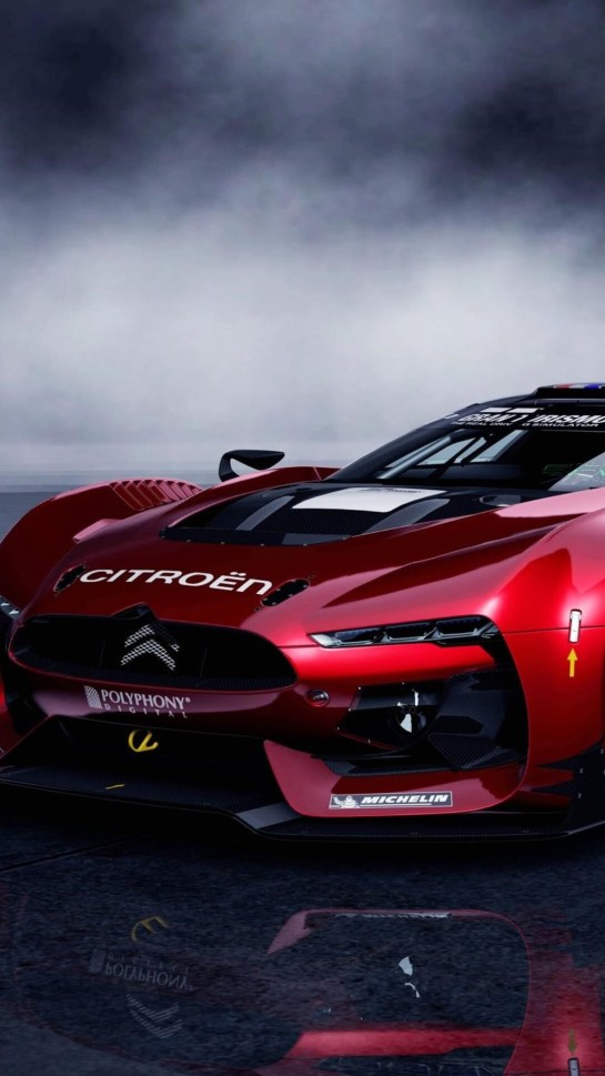 GT by Citroën Race Car HD Android Wallpaper