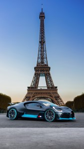 Bugatti Eiffel Tower Android 4K Wallpapers Download