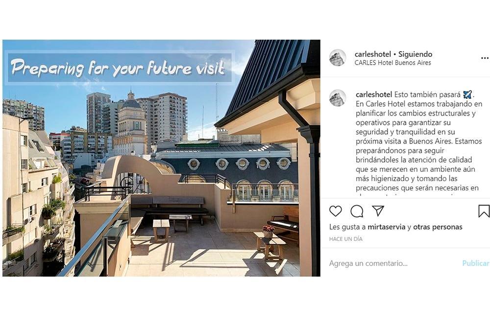 Instagram de Hotel Carles