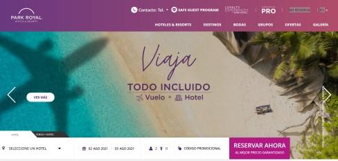 Pagina-Web-Park-Royal-Hotels-Resorts-2