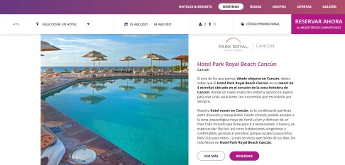 Pagina-Web-Park-Royal-Hotels-Resorts-4