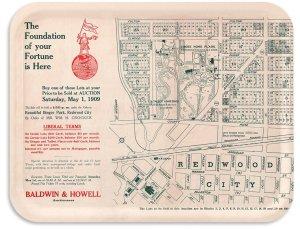 Redwood City Auction 1909
