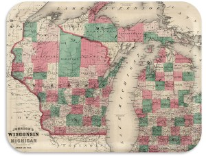 Wisconsin-Michigan 1884