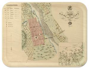 Kokkola Gamlakarleby Finland 1832