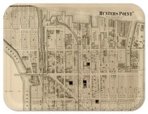Hunters Point 1873, Long Island City, NY