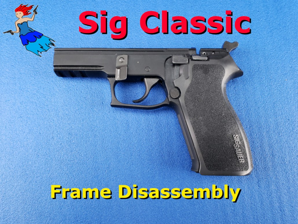 Sig Classic Frame Disassembly post image