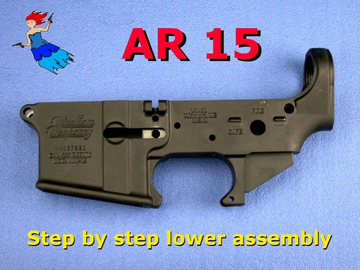 AR 15 lower receiver assembly video post image