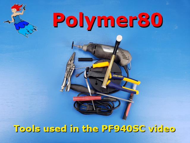 PF940sc Tools used post image