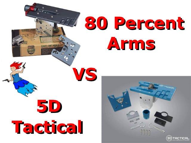80 percent arm vs 5d tactical Thumbnails