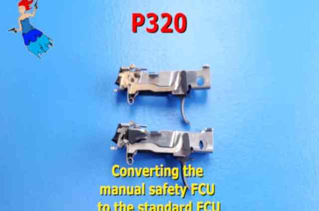 P320 Manual Safety Conversion