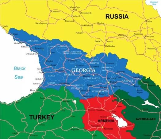 Wyjazdy do Gruzji dla firm