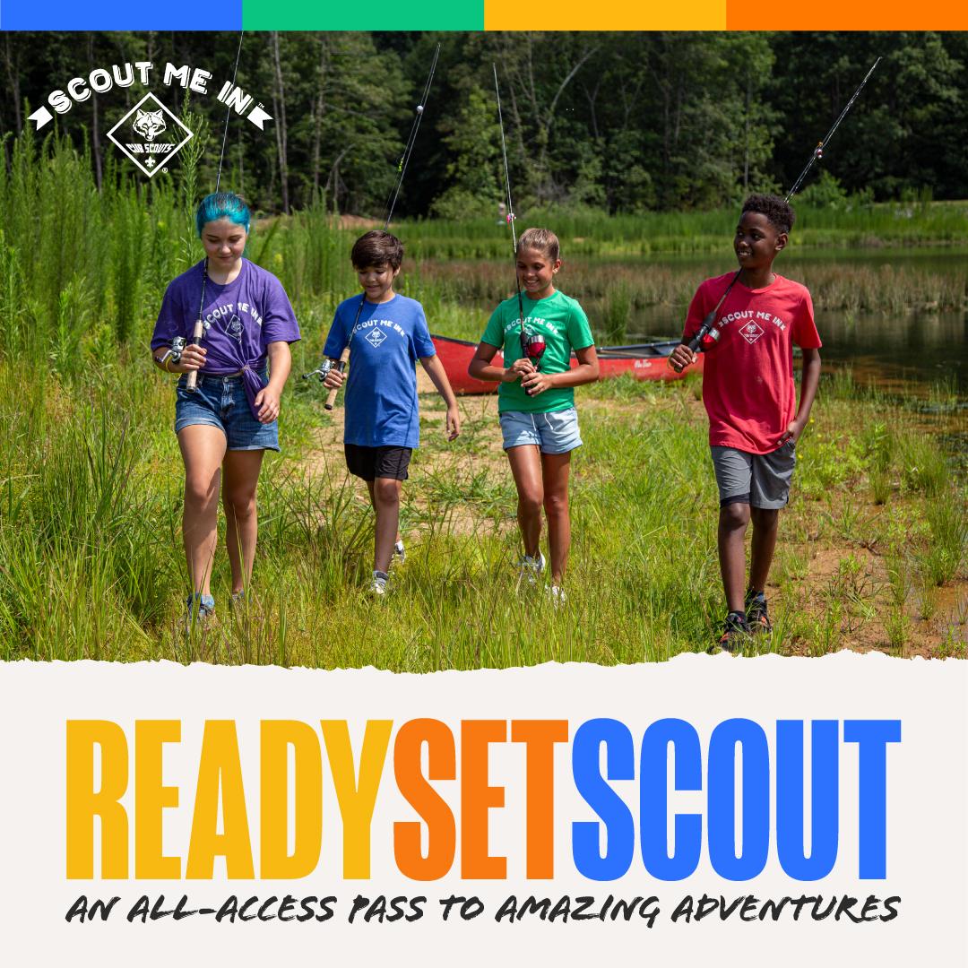 Fall Recruitment social media image - Ready Set Scout