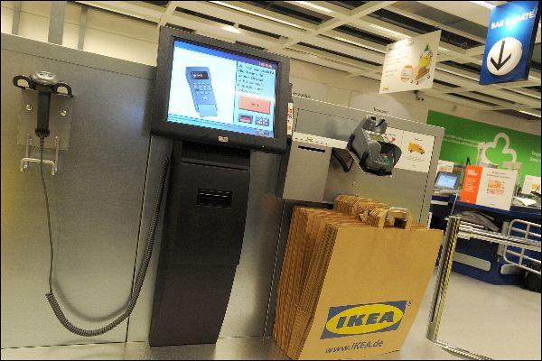 Überwachungsrisiko von Kunden durch Selbstbedienungskassen