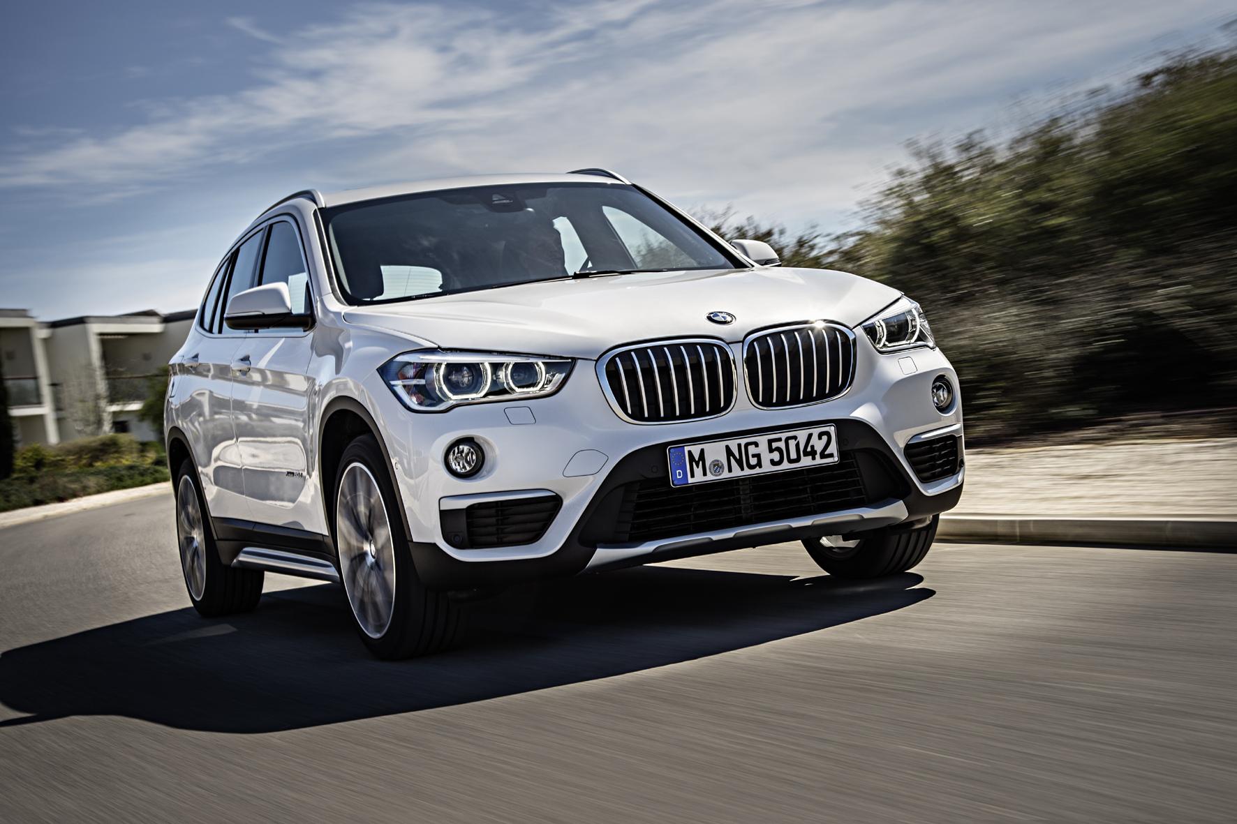 Unterwegs im BMW X1 der zweiten Generation