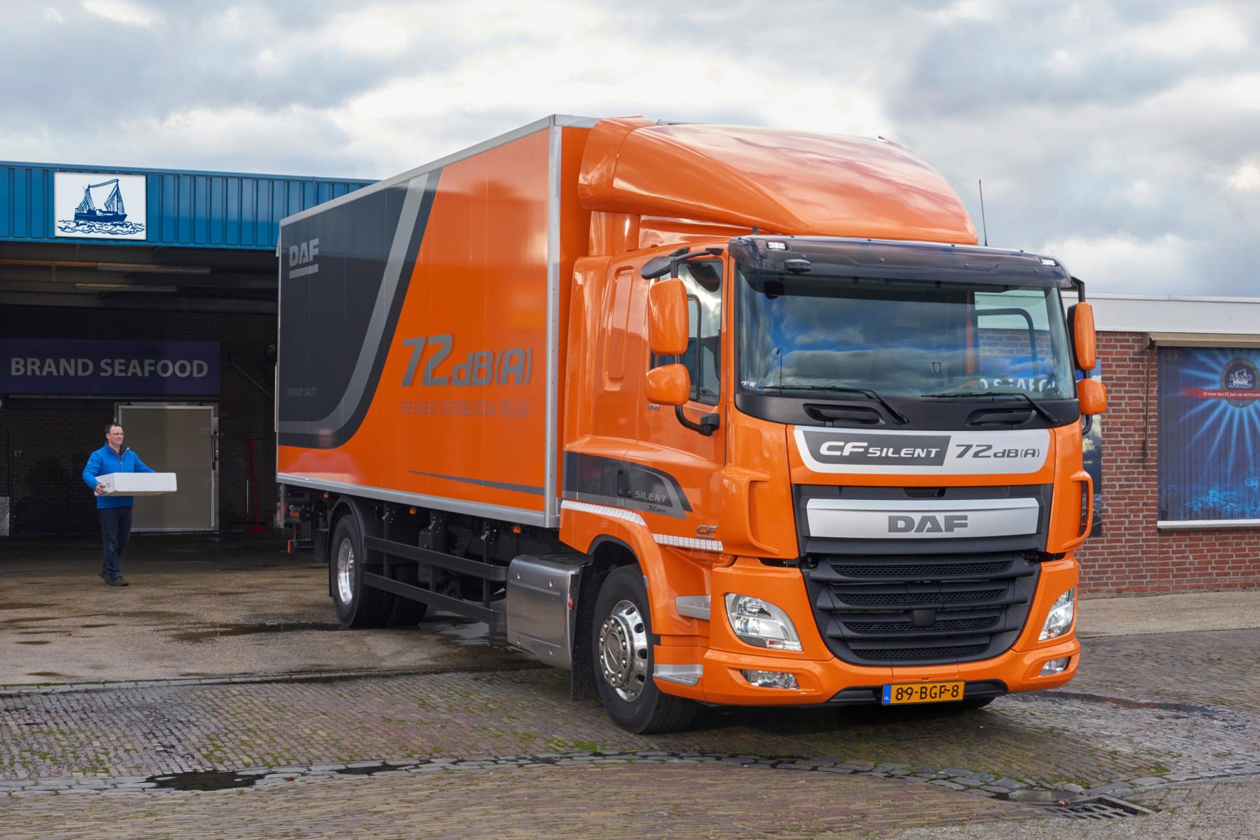 Niederländische Truck-Spezialitäten leise und gut bestückt unterwegs