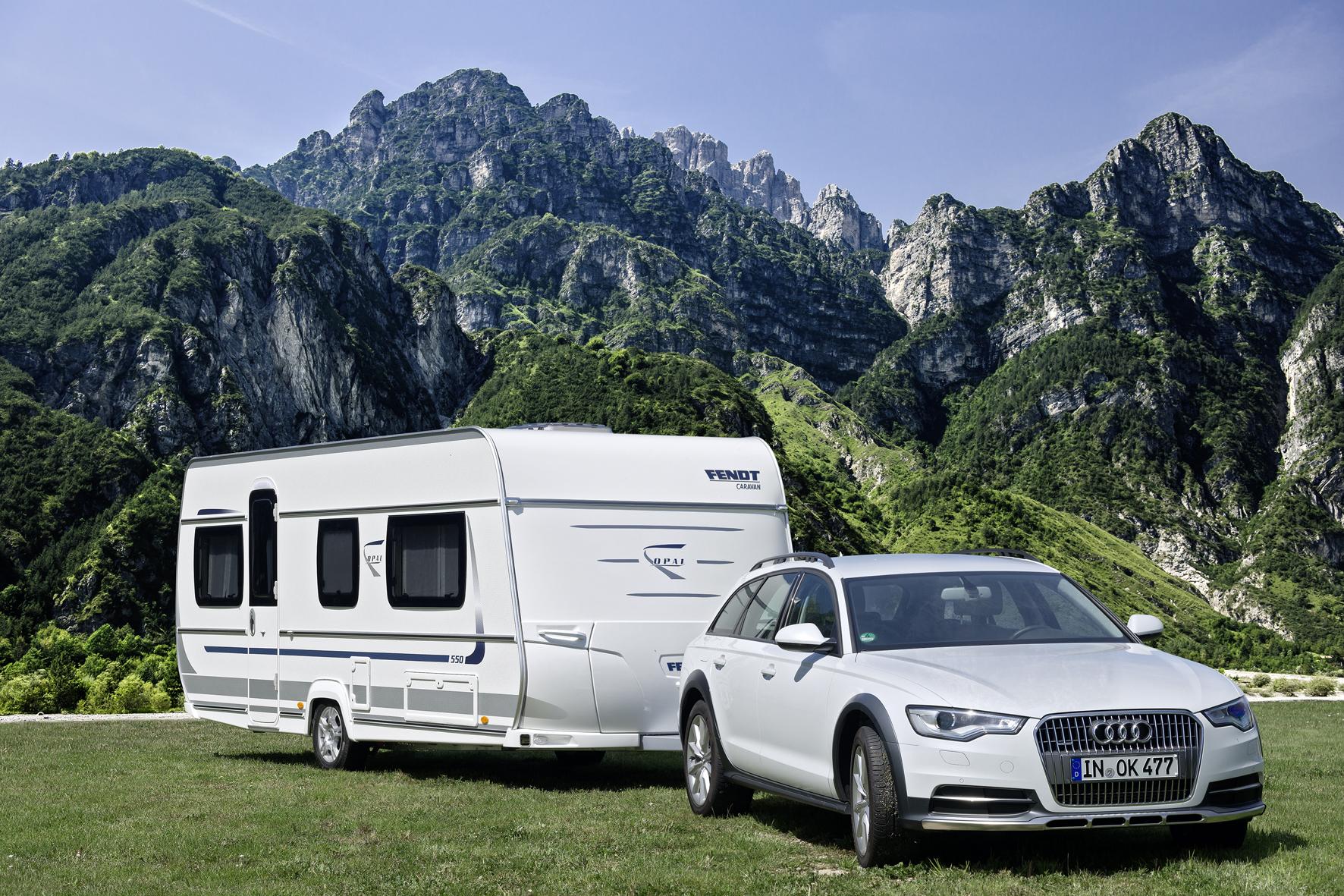 Wo Camper übernachten und frühstücken dürfen