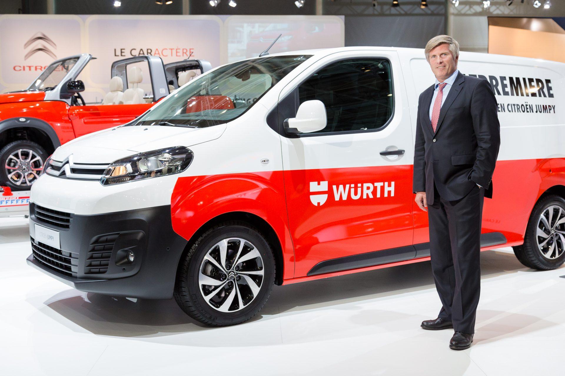 Interview auf der IAA-Nutzfahrzeuge mit Citroen Deutschland Geschäftsführer Holger Böhme