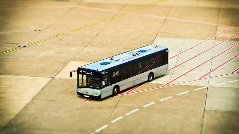 Viele Busbahnhöfe im Test eines Automobilclubs mangelhaft
