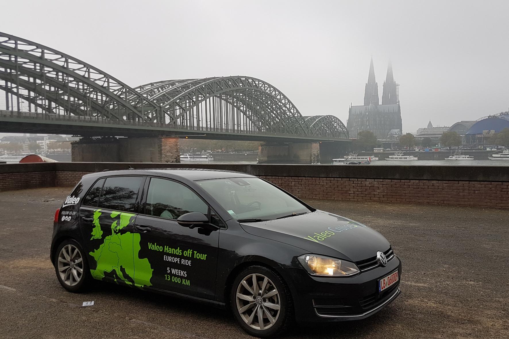Autonom durch halb Europa mit einem Versuchsfahrzeug unterwegs
