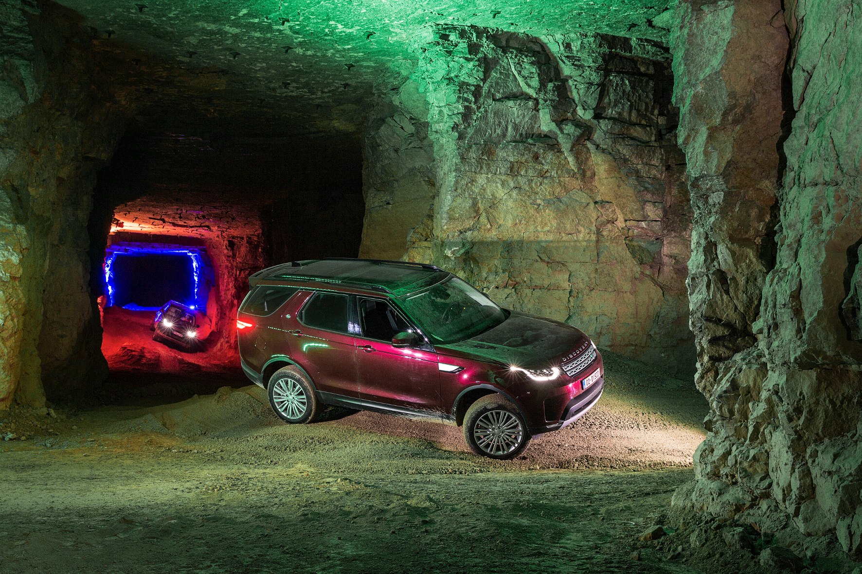 Land Rover Discovery: Selbst unter Tage überzeugend