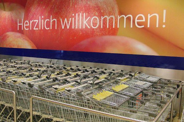 Willkommen im Supermarkt