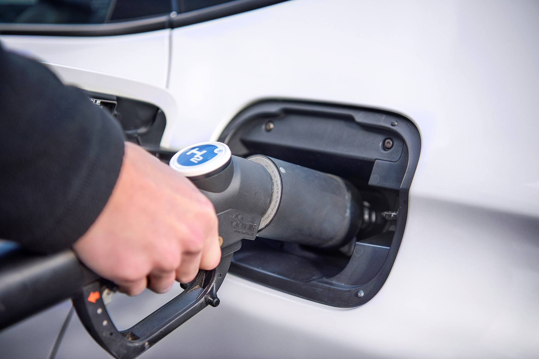 Brennstoffzellen-Autos lassen sich in wenigen Minuten betankten