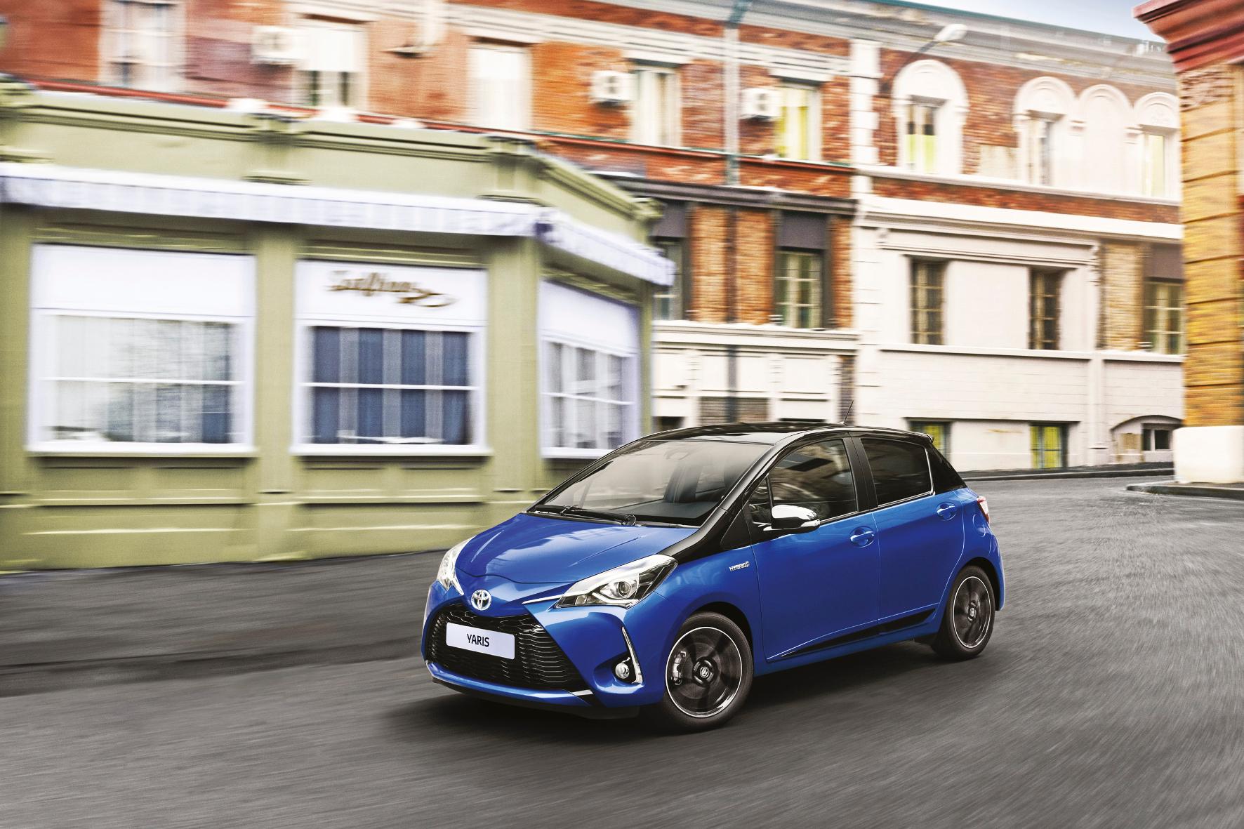 Toyota Yaris Überarbeitung geht über ein übliches Facelift hinaus