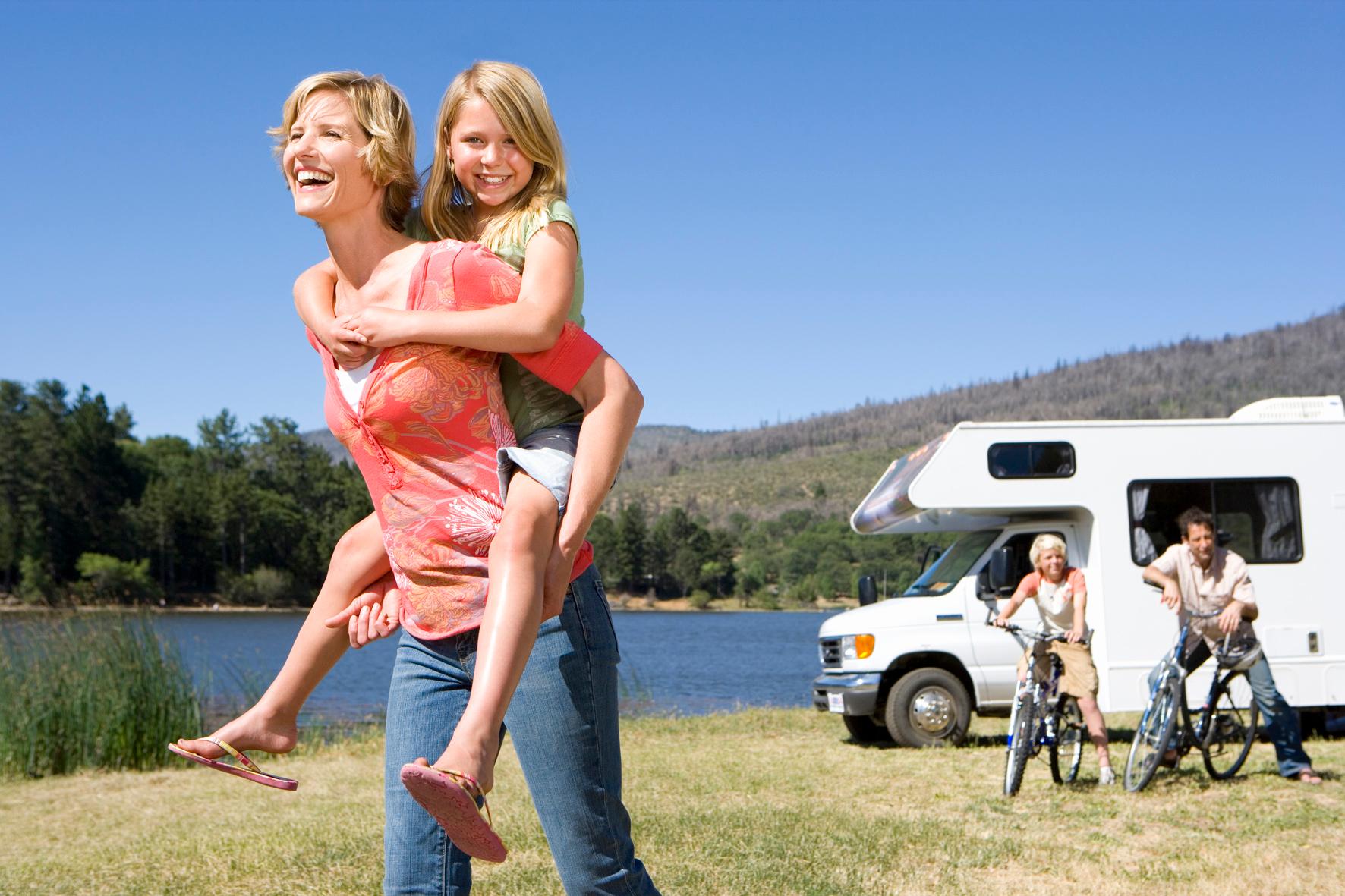 Gut versichert in den Camping-Urlaub