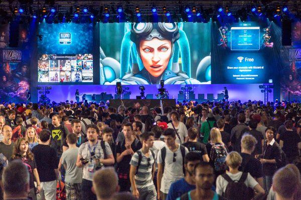Wahlkampf-Arena und Gamescom TV auf der führenden deutschen PC-Spielemesse