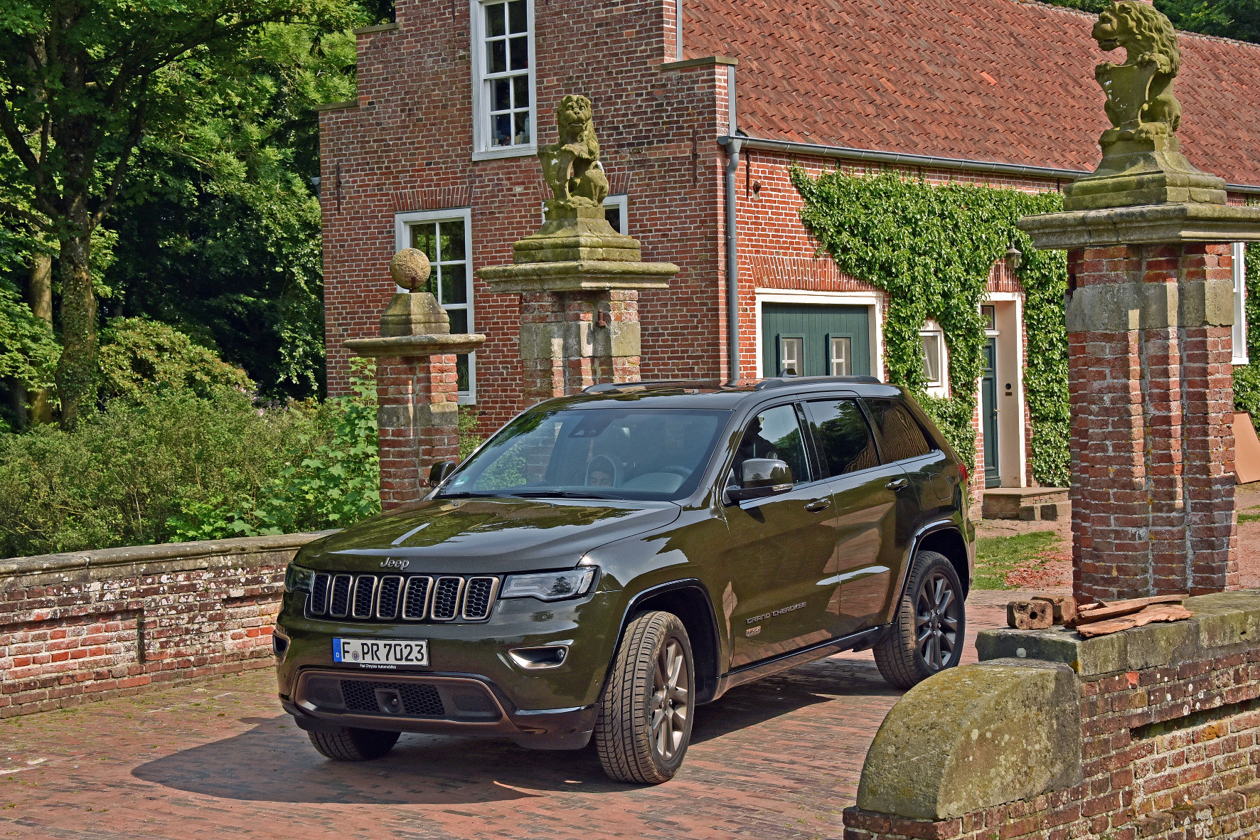 Jeep Gran Cherokee: Auch für eine Schlammschlacht gut gerüstet