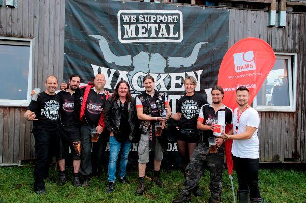Wacken Open Air: Metalheads gegen Blutkrebs