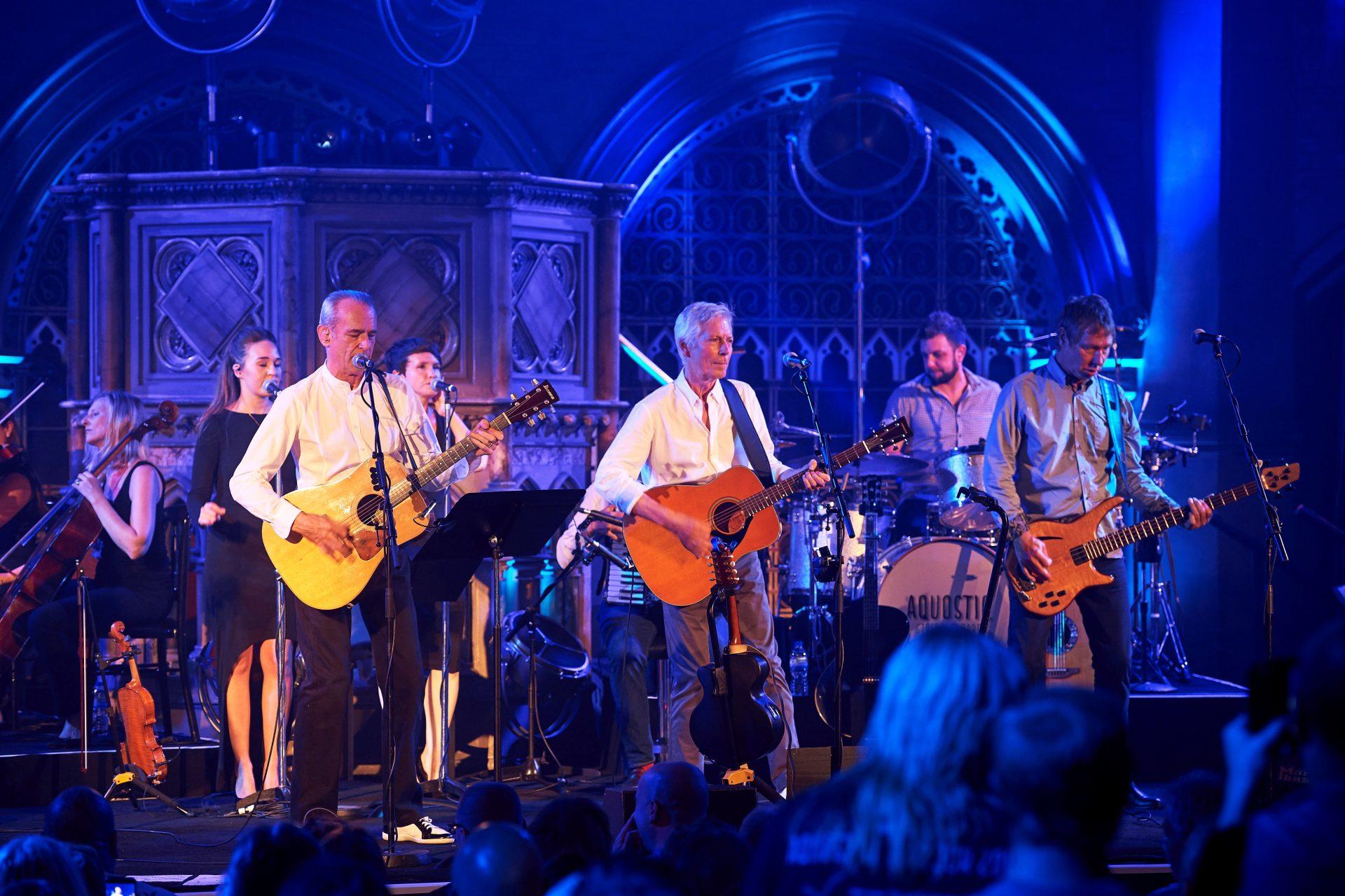 Status Quo Unplugged Show in Düsseldorf