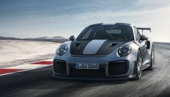 Porsche von vorne