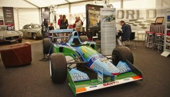 Ein ganz besonderes Ausstellungsstück: der Benetton Ford B194, mit dem Michael Schumacher 1994 zum ersten Mal Formel-1-Weltmeister wurde. © AvD / Fotograf Tom Linke ad08 / TRD Auto