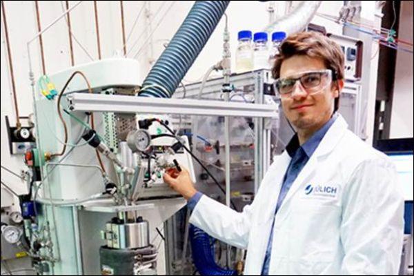 Neue Methode zur Wasserstoff-Speicherung