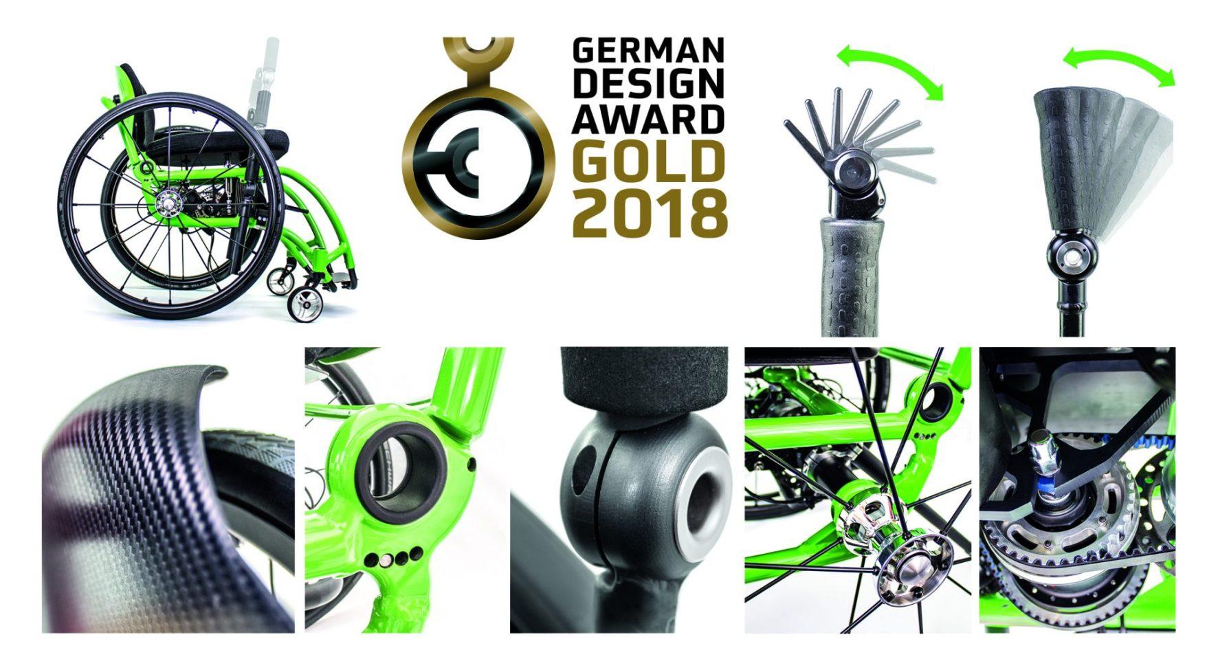 German Design Award Gold 2018 Gewinner – Foto: DESINO GmbH / TRD Mobil