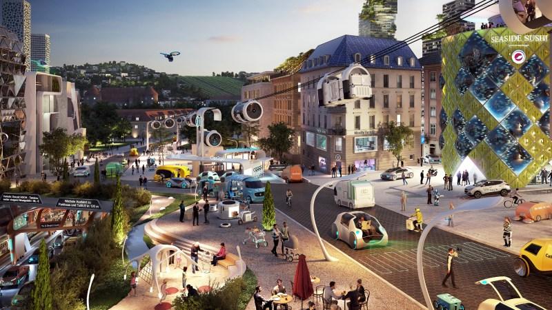 Automobile Visionen: Der Blick in die Kristallkugel soll die Zukunft abbilden