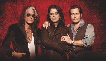 Die Band Hollywood Vampires