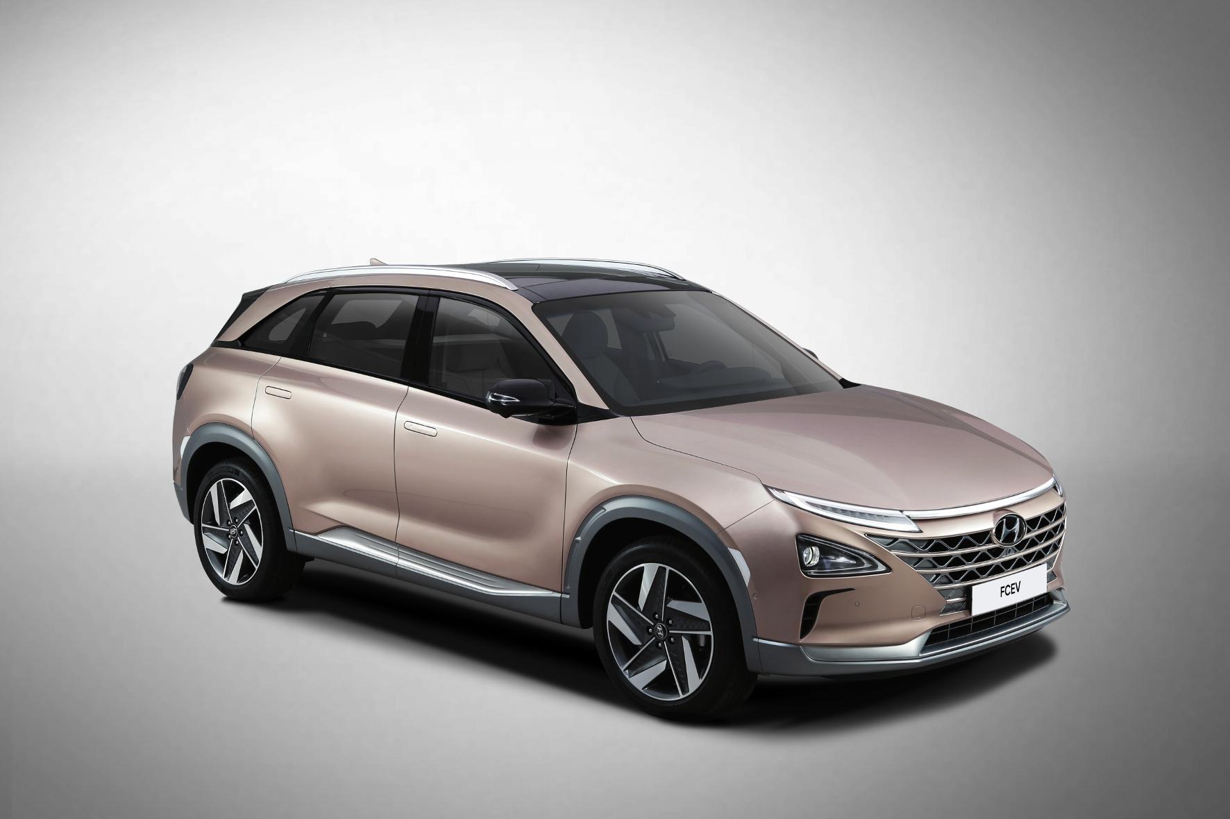 Präsentation: Hyundai stellte künftiges Brennstoffzellenauto in Las Vegas vor