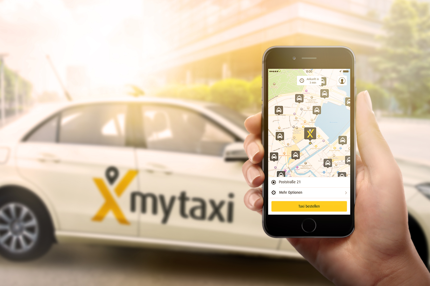Taxi-App: 600 Mal zum Mond und zurück