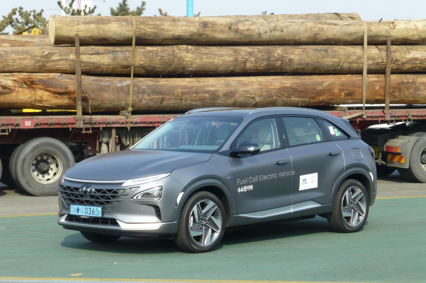 Asiatisches Elektroauto als kompakter SUV mit Brennstoffzelle auf dem deutschen Markt