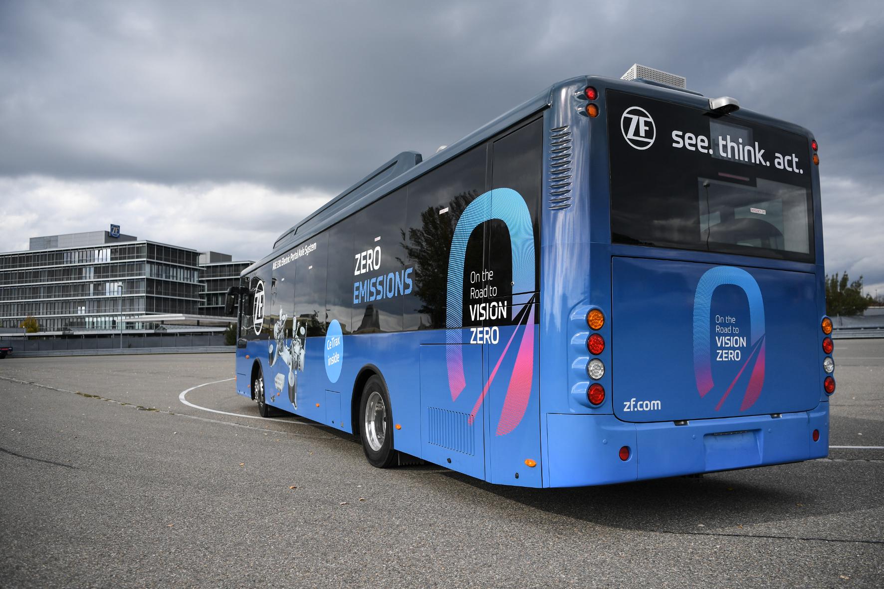 Emissionen von Stadtbussen lassen sich mit Hybrid-Anwendungen senken